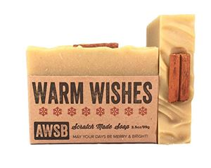 warm wishes holiday soap natural,organic,holiday,soap,handmade,warm wishes,vanilla,spice,cinnamon