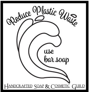 Reduce Plastic Waste. Use Bar Soap.