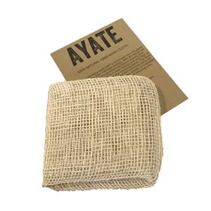ayate natural fiber wash cloth