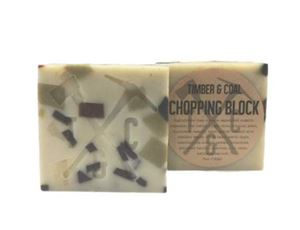 chopping block organic bar soap for men