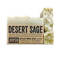 desert sage handmade organic bar soap with rosemary