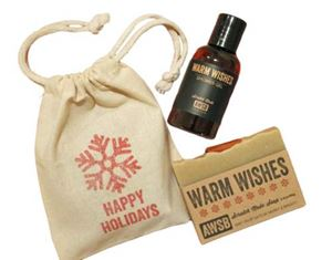 holiday gift set warm wishes