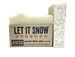 let it snow organic holiday soap