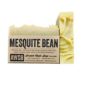 mesquite bean soap - SALE! mesquite,mesquite bean,natural,handmade,organic,soap,patchouli,ylang ylang,exfoliating,sensuous,earthy,essential oil,oats,wild