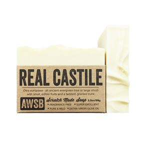 real castile organic olive oil fragrance free bar soap