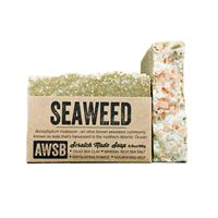 seaweed handmade organic bar soap with kelp and sea clay