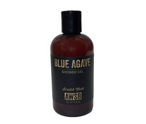 blue agave organic shower gel