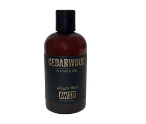 cedarwood organic shower gel