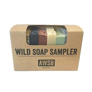wild soap sampler, boxed