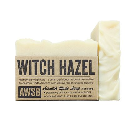 witch hazel natural organic bar soap