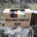 wild soap sampler with 8 travel soaps