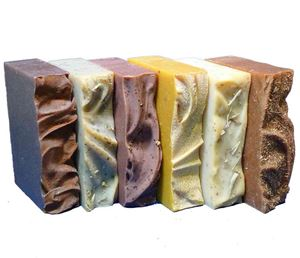 6 naked natural organic bar soaps no labels