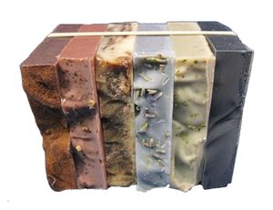natural handmade organic soap odds and ends bars
