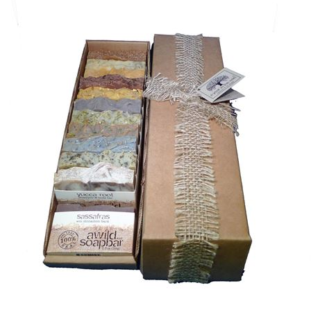 a year in the wild natural handmade organic soap gift collection