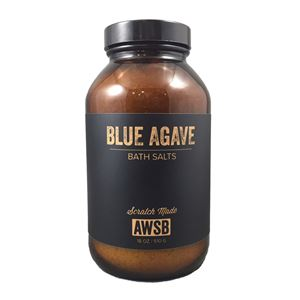 blue agave relaxing bath salts